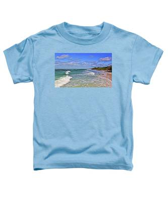 Florida Gulf Coast Beaches Toddler T-Shirt