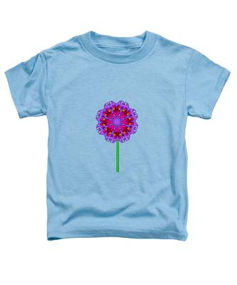 Fractal Flower Garden Flower 01 Toddler T-Shirt