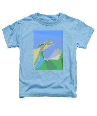 Hailing A Taxi Toddler T-Shirt