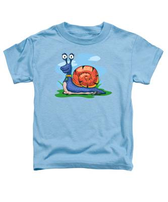 Larry The Snail Toddler T-Shirt