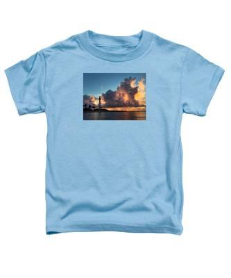 Lighthouse In Orange Toddler T-Shirt