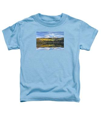 Mountain Lake Reflection Toddler T-Shirt