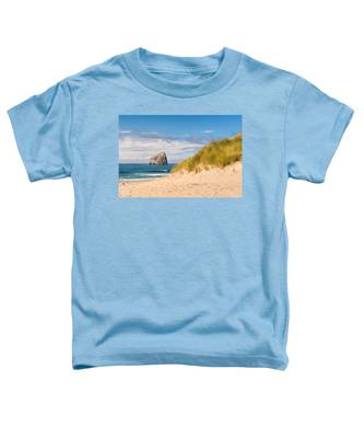 Pacific Beach Haystack Toddler T-Shirt