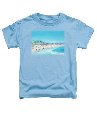 Pacific Beach In San Diego Toddler T-Shirt