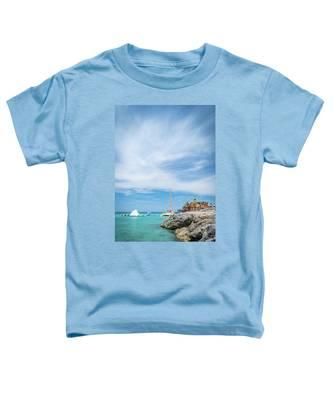 Coastline Sailing In Montego Bay Toddler T-Shirt