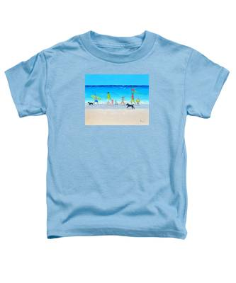 Summer Vacation Time Toddler T-Shirt