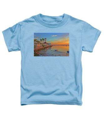 Sunrise At The Pier Toddler T-Shirt