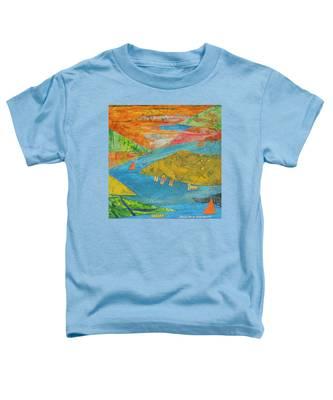 Sunset Sails 1 Toddler T-Shirt
