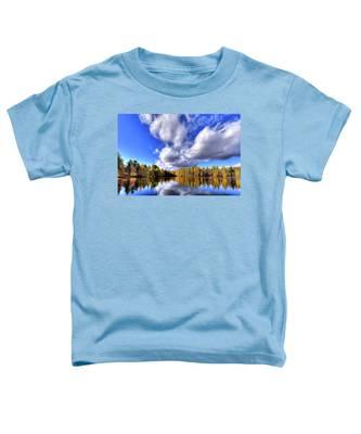 Tamarack Reflections In The Adirondacks Toddler T-Shirt