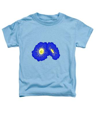 Two Morning Glories Toddler T-Shirt