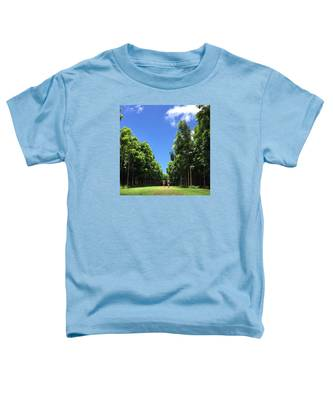 Walking Into The Woods Toddler T-Shirt