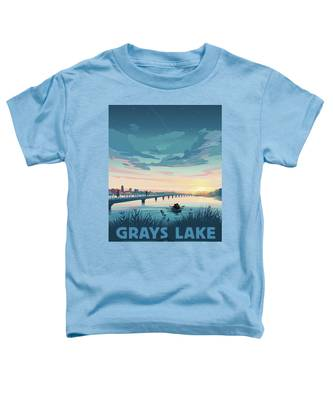 Grays Lake Toddler T-Shirt