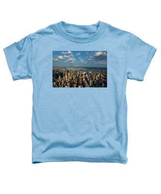 New York Skyline Empire State Toddler T-Shirt