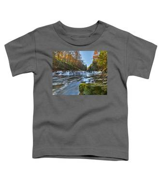 Squaw Rock - Chagrin River Falls Toddler T-Shirt