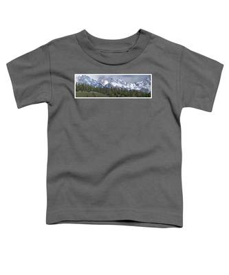 Tetons Panorama Toddler T-Shirt
