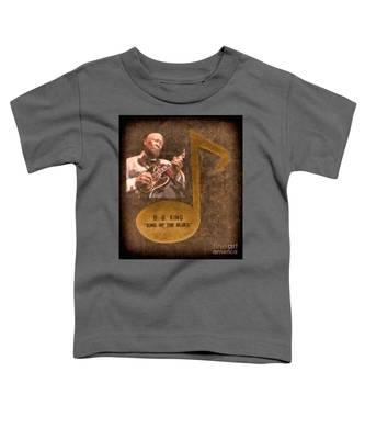 Bb King Note Toddler T-Shirt