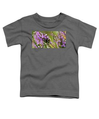 Bee On Heather Toddler T-Shirt