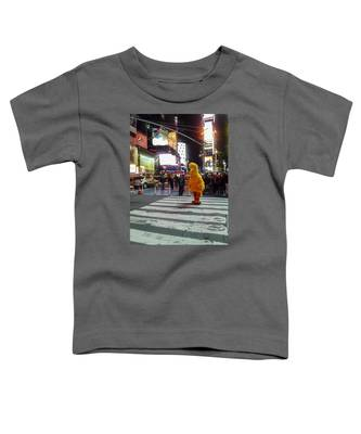 Big Bird On Times Square Toddler T-Shirt