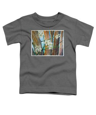 Blooms Of The Cleaveland Pear Toddler T-Shirt