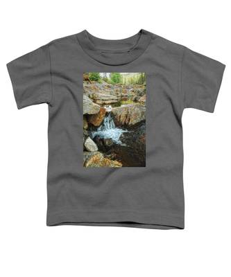 Cascading Downward Toddler T-Shirt