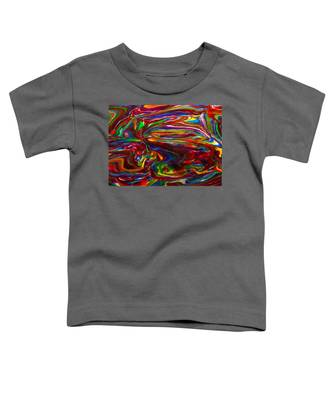 Chaotic Flow Toddler T-Shirt
