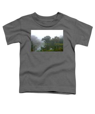 Foggy Morning At The Willows Toddler T-Shirt