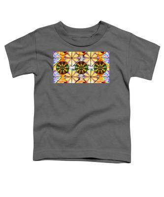 Toddler T-Shirt featuring the drawing Geometric Dreamland by Derek Gedney