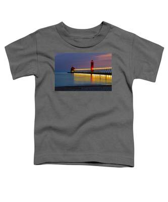 Grand Haven South Pier Lighthouse Toddler T-Shirt