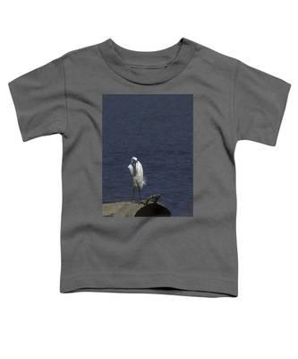 Great Egret Toddler T-Shirt