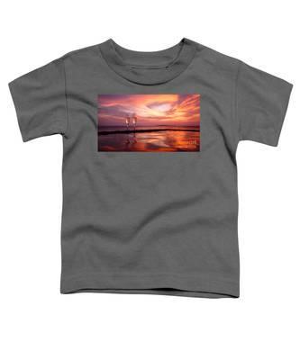 Honeymoon - A Heart In The Sky Toddler T-Shirt