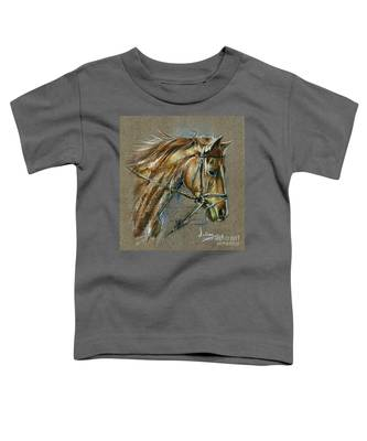 My Horse Face Drawing Toddler T-Shirt