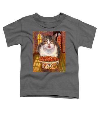 Hungry Cat Toddler T-Shirt