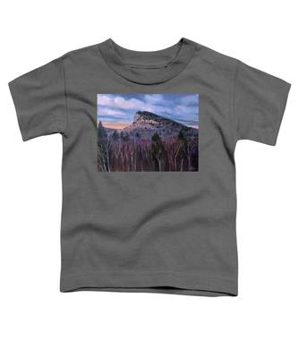 Indian Head In Lincoln New Hampshire Toddler T-Shirt