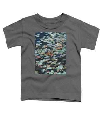 Leaves On Pond Toddler T-Shirt