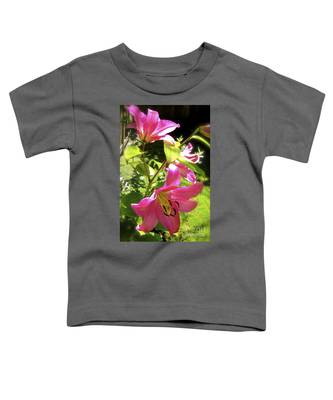Lilies In The Garden Toddler T-Shirt