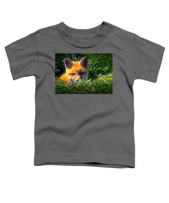 Little Red Fox Toddler T-Shirt