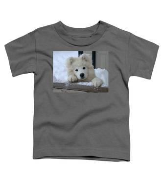 Loving The Snow Toddler T-Shirt
