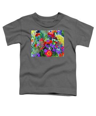 Mid August Bouquet Toddler T-Shirt