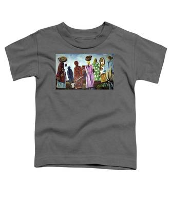 Mombasa Market Toddler T-Shirt