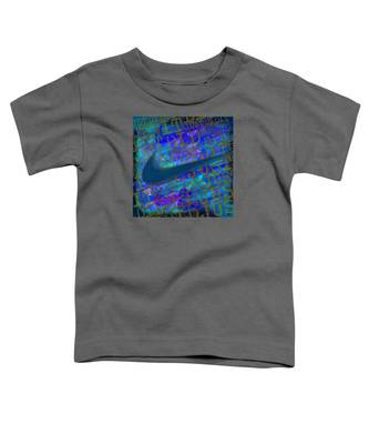 Nike Just Did It Blue Toddler T-Shirt