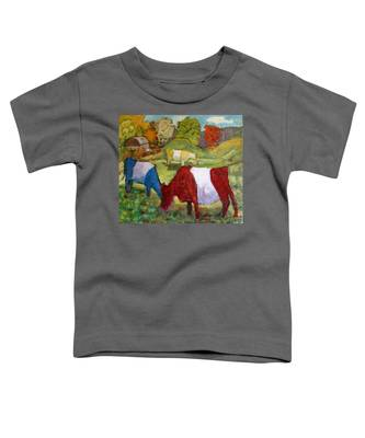 Primary Cows Toddler T-Shirt