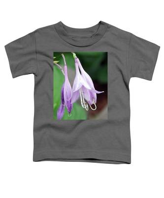 Purple And White Fuchsia Toddler T-Shirt