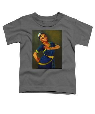 Radha Playing Krishna Toddler T-Shirt