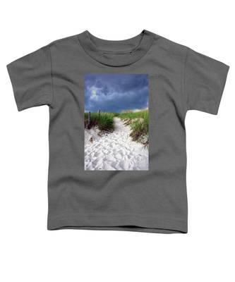 Sand Dune Under Storm Toddler T-Shirt