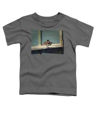 Sitting On The Dock Of The Bay Toddler T-Shirt