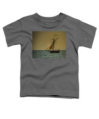 Sunset Voyage Toddler T-Shirt