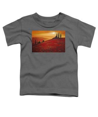 Tuscan Sunset Toddler T-Shirt