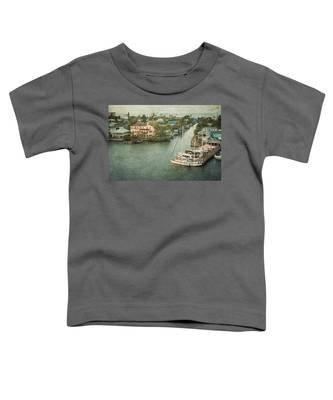 View At Fort Myers Beach - Florida Toddler T-Shirt