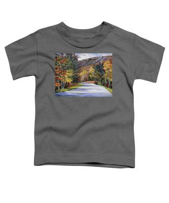 Waterville Road New Hampshire Toddler T-Shirt