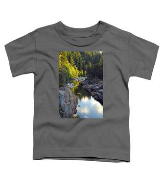 Yuba River Twilight Toddler T-Shirt